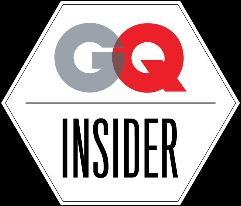 GQ Insider blog badge white