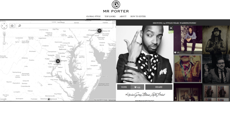 Mr Porter's Global Style contest