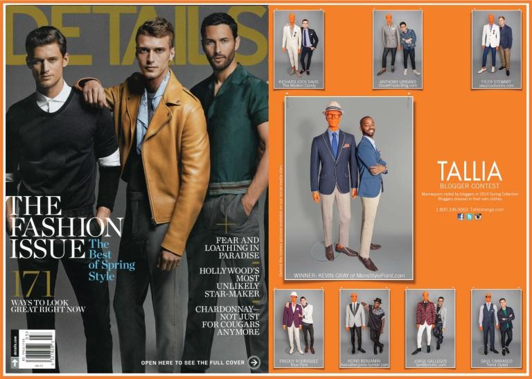 Details Magazine March '14 issue