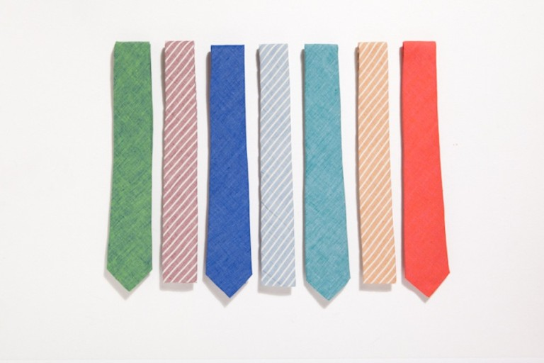lightweight ties