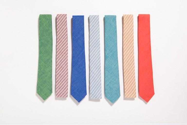 lightweight ties